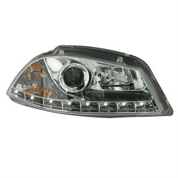 Paire de phares devil eyes Chrome Pour Seat Ibiza 2002-2004