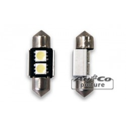 Ampoule LED CANBUS 31mm 12V 2xLEDs