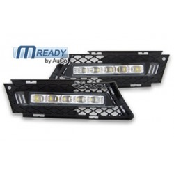 Day light homologué CEE, 5 LEDs pour BMW E90 / E91 de 2005 à  2008
