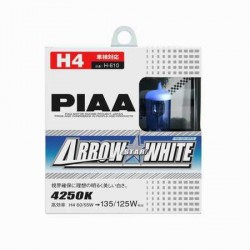 Lot de 2 ampoules PIAA Arrow Star White - H1 12V 55W a 110W